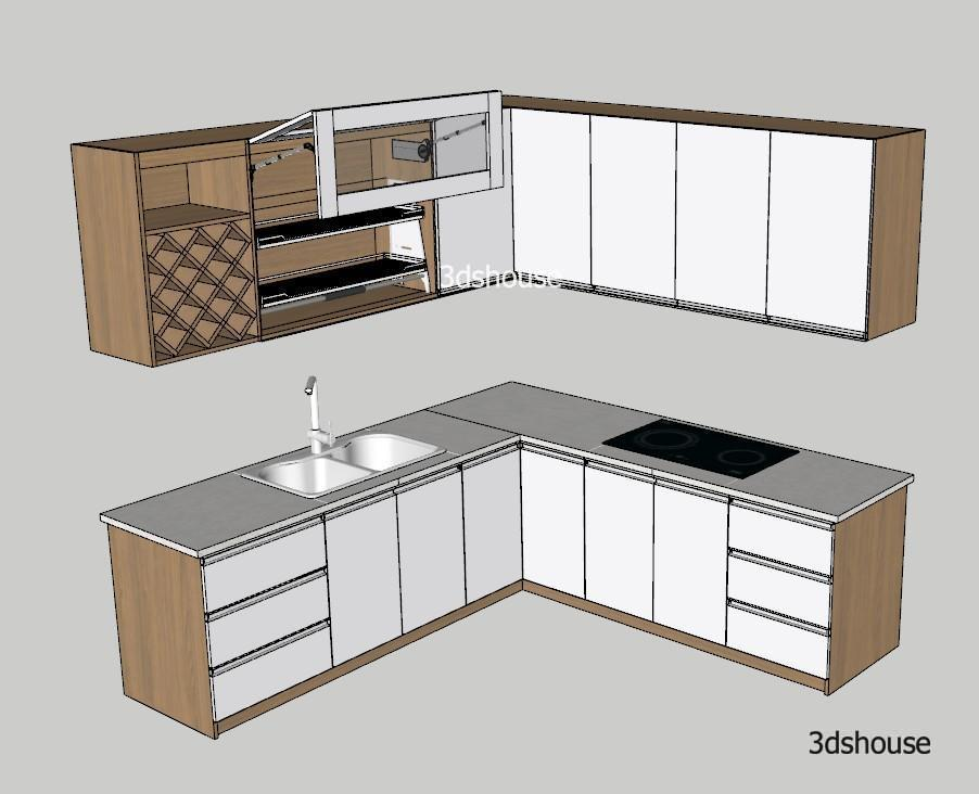 Kitchen Manufacturing Design Sketchup