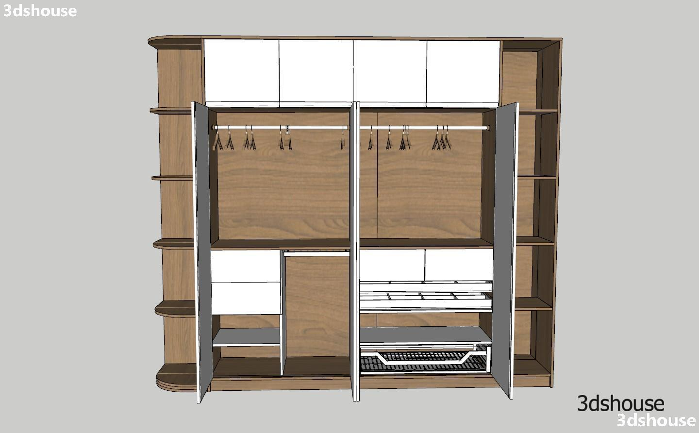Wardrobe Design Dynamic Sketchup