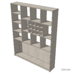 Height_Wine_Square_Drawers