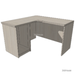 Tables_LShape_Cabinet